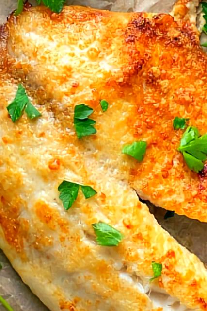 5-Ingredient Garlic Parmesan Tilapia