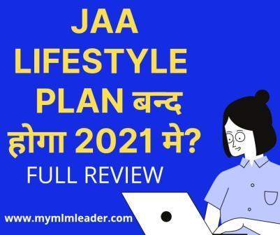 Jaa Lifestyle Plan