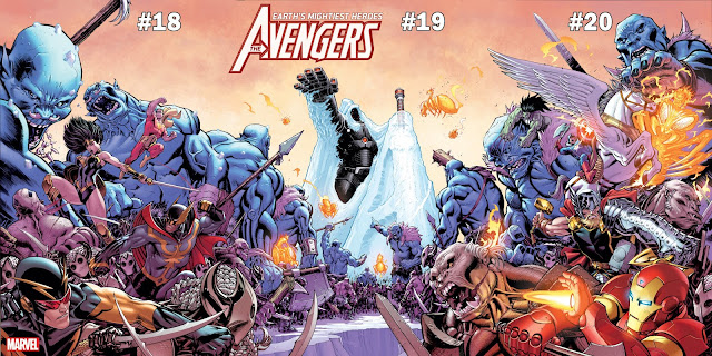 the war of the realms the avengers