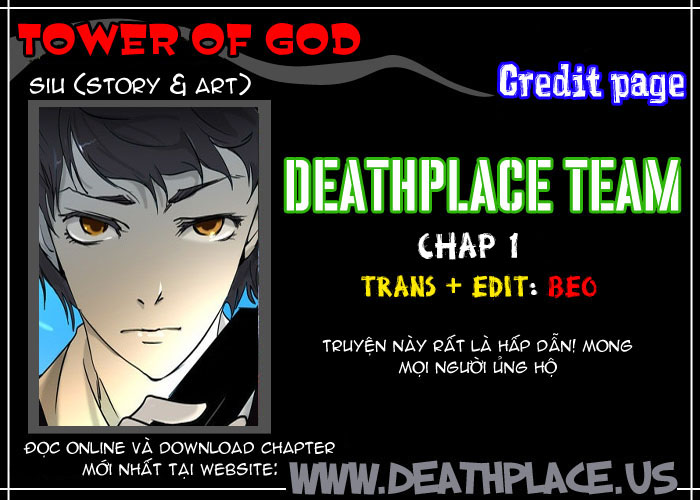 Tower of God chapter 1 trang 1