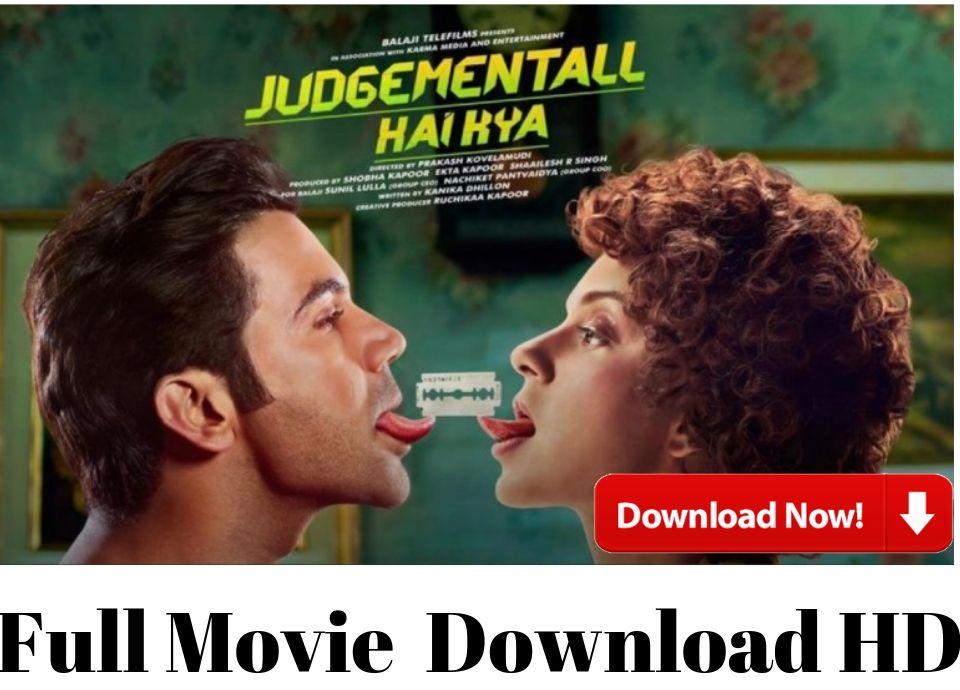 judgemental hai kya Full Movie Download HD 2019