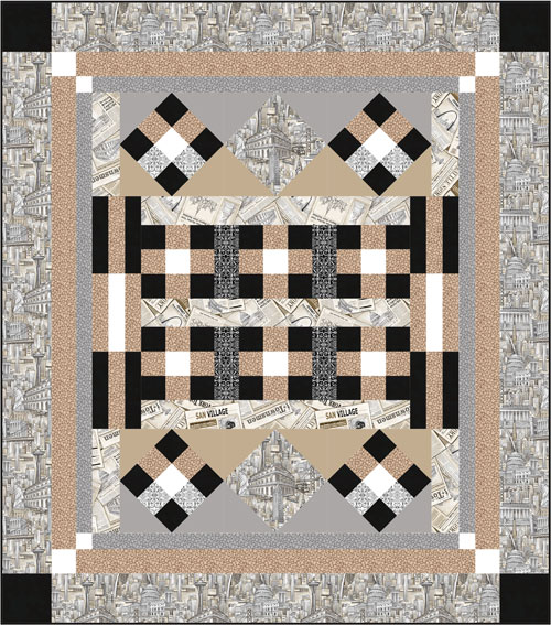 Inspired by Fabric: New FREE Quilt Patterns