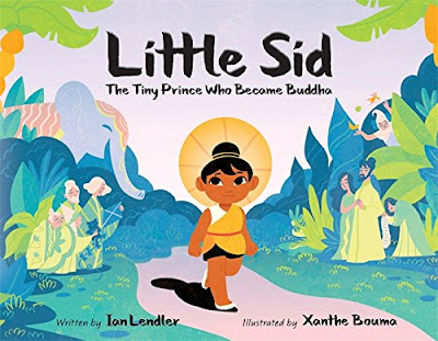Little Sid is both a simplified version of the Buddha's tale and an introduction to mindfulness. It's a great way to present the idea that happiness comes from being present in the moment rather than from material objects. #childrenslit #books #buddha #LittleSid #picturebook