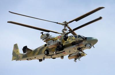 Kamov Ka-52 Alligator: el nuevo carro del infierno - Página 3 Ka-52%2Bsiria