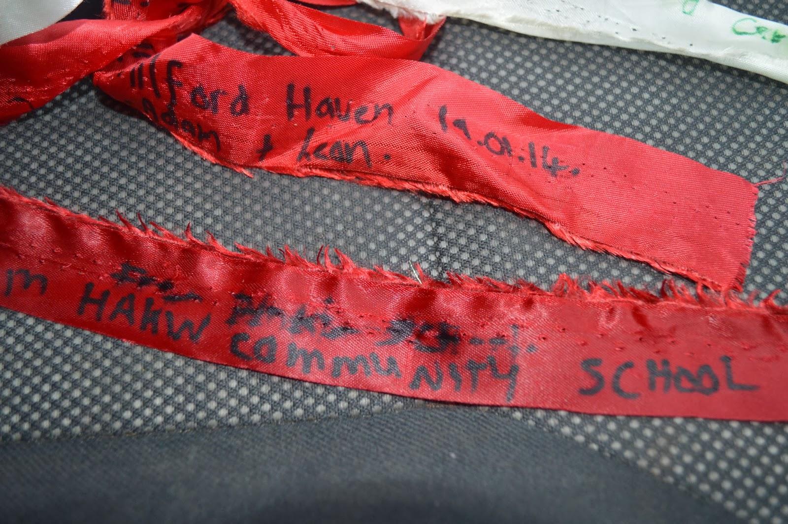 , Local Schools Support Team Honk Relay Pembrokeshire