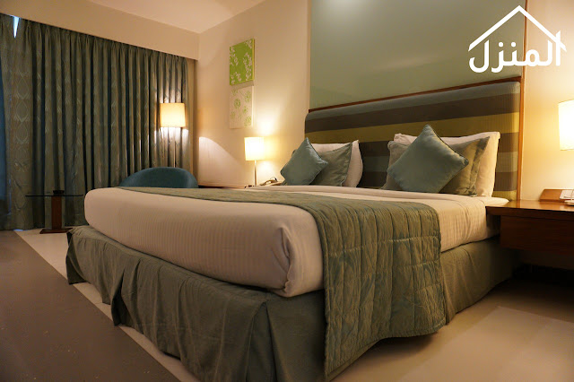 ديكور غرف نوم مثل الفنادق
