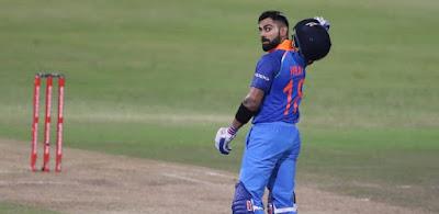 How many ODI matches have Team India won when Kohli made century?