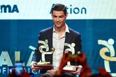 #Cristiano_ronaldo forget the #Ballon #d 'Or with a double reward in #Italy. #CR7