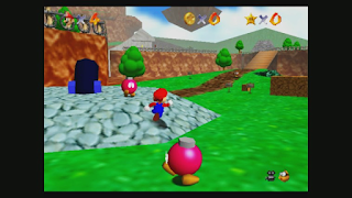 Super Mario 64 - Third-Person View Example