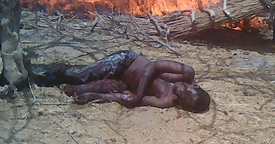 6 Photos: Pit where Boko Haram dumps bodies of their victims found by Troops