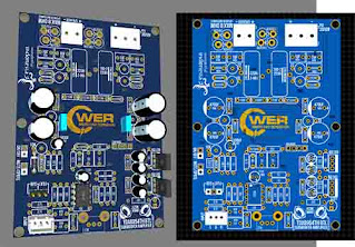 SUBWOOFER AMPLIFIER TDA8954TH NON SMD DOWNLOAD GERBER PCB LAYOUT