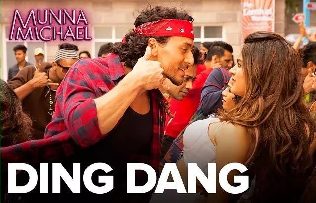 Ding Dang Lyrics - Munna Michael - Amit Mishra and Antara Mitra