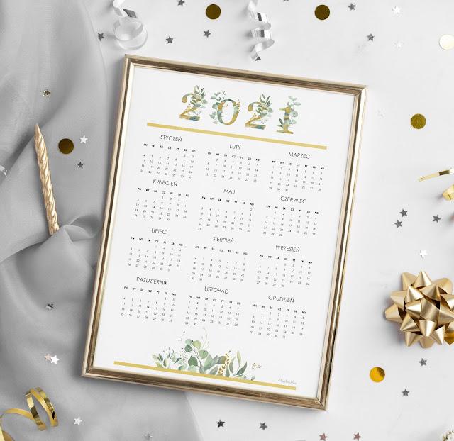 darmowy kalendarz 2021 do druku
