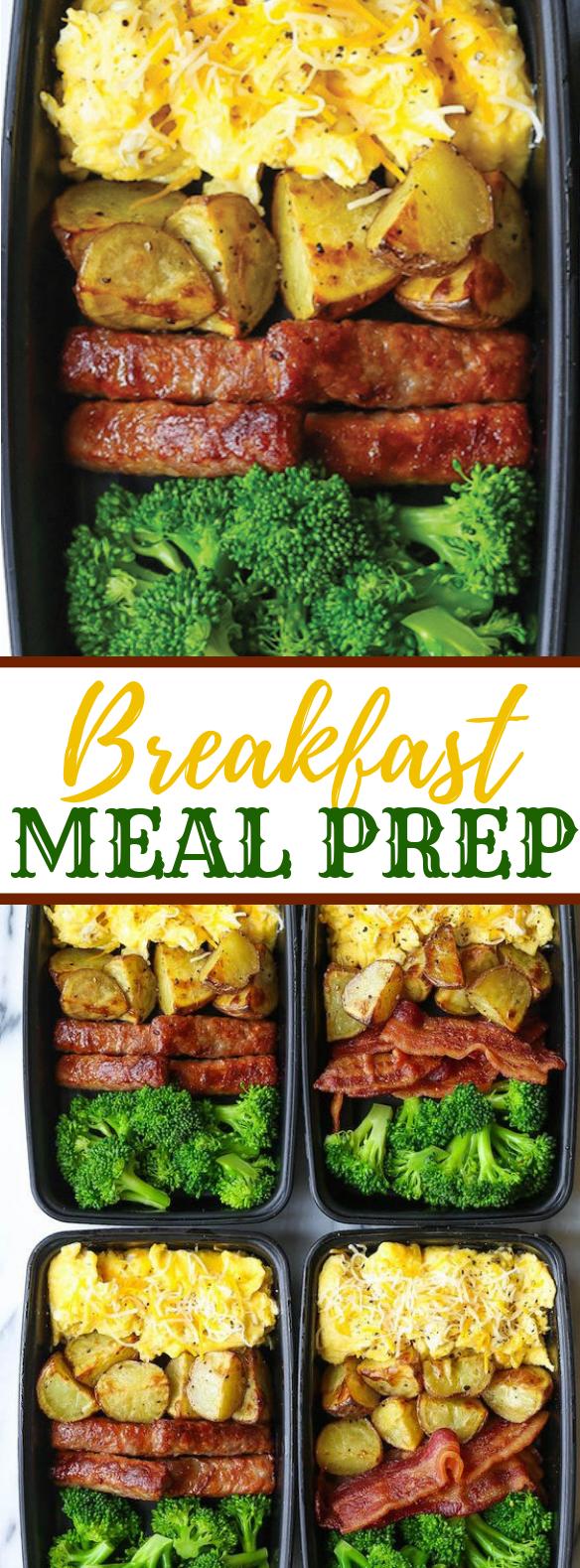 BREAKFAST MEAL PREP #meals #bacon