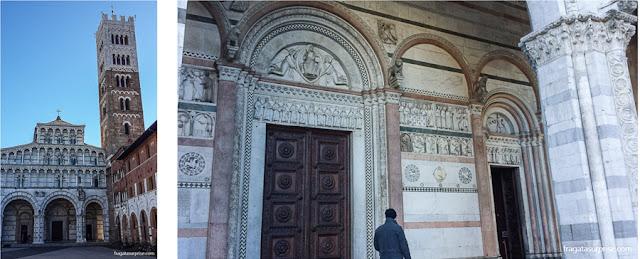 Catedral de Lucca, Toscana, Itália