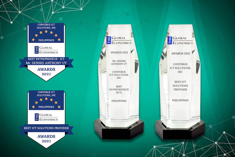Converge named as the Best ICT Solutions Provider at the Global Economics Awards 2021