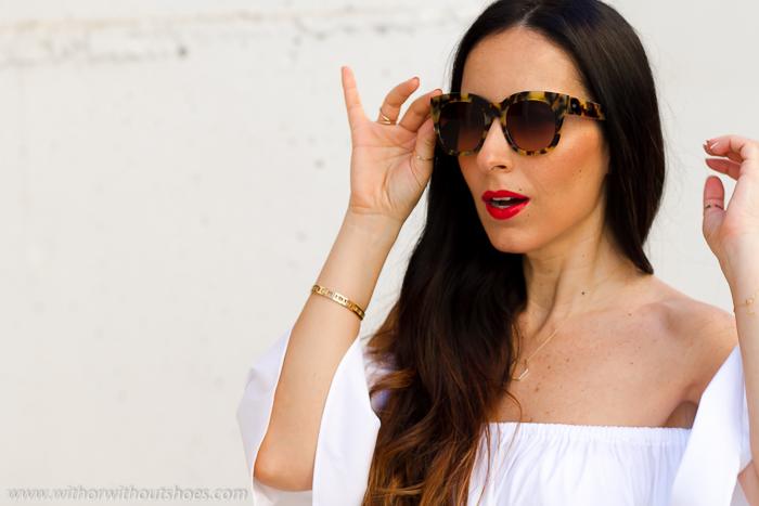Tendencia gafas de sol mas bonitasen estampado animal