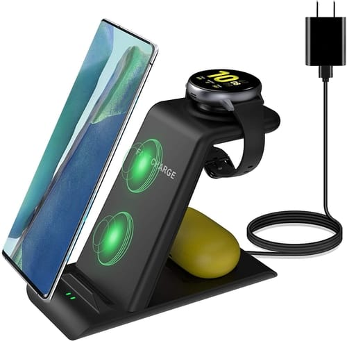 Kartice Wireless Charging Station 3 in 1