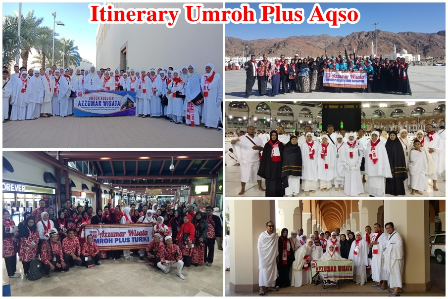 Program Itinerary Umroh Plus Aqso 13 Hari