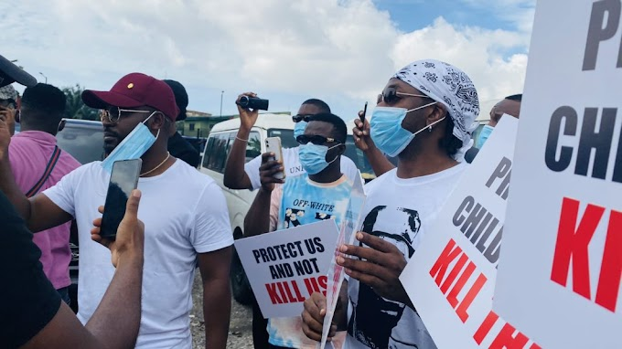 Singer Falz accuses certain people of using thugs to silent #EndSars protesters
