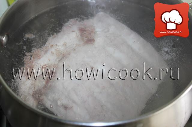 Рассольник на свиных ребрышках рецепт пошаговые фото