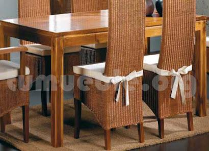 mesa comedor hecho en teca 4002/1
