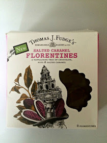 salted caramel florentines
