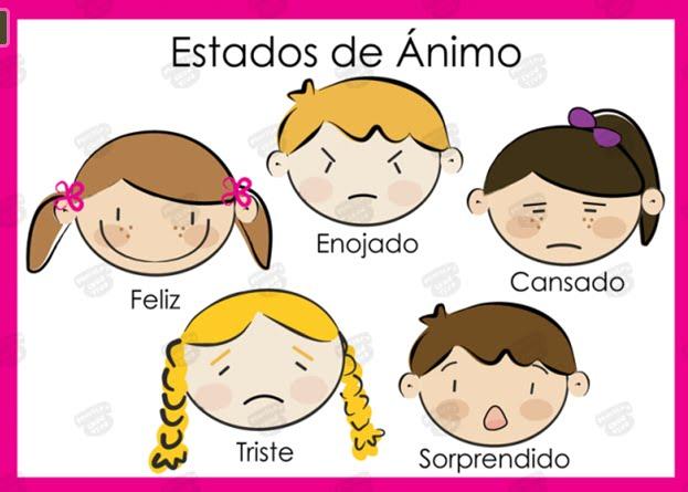 Dibujos De Estados De Animo Para Niños Imagui