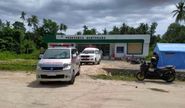 Lokasi Foto : PKM Bontoharu Selayar
