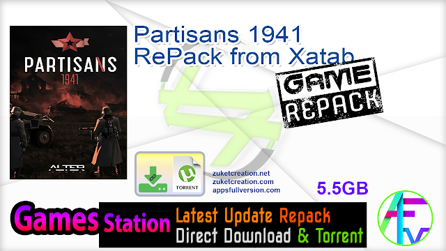 Partisans 1941 RePack from Xatab