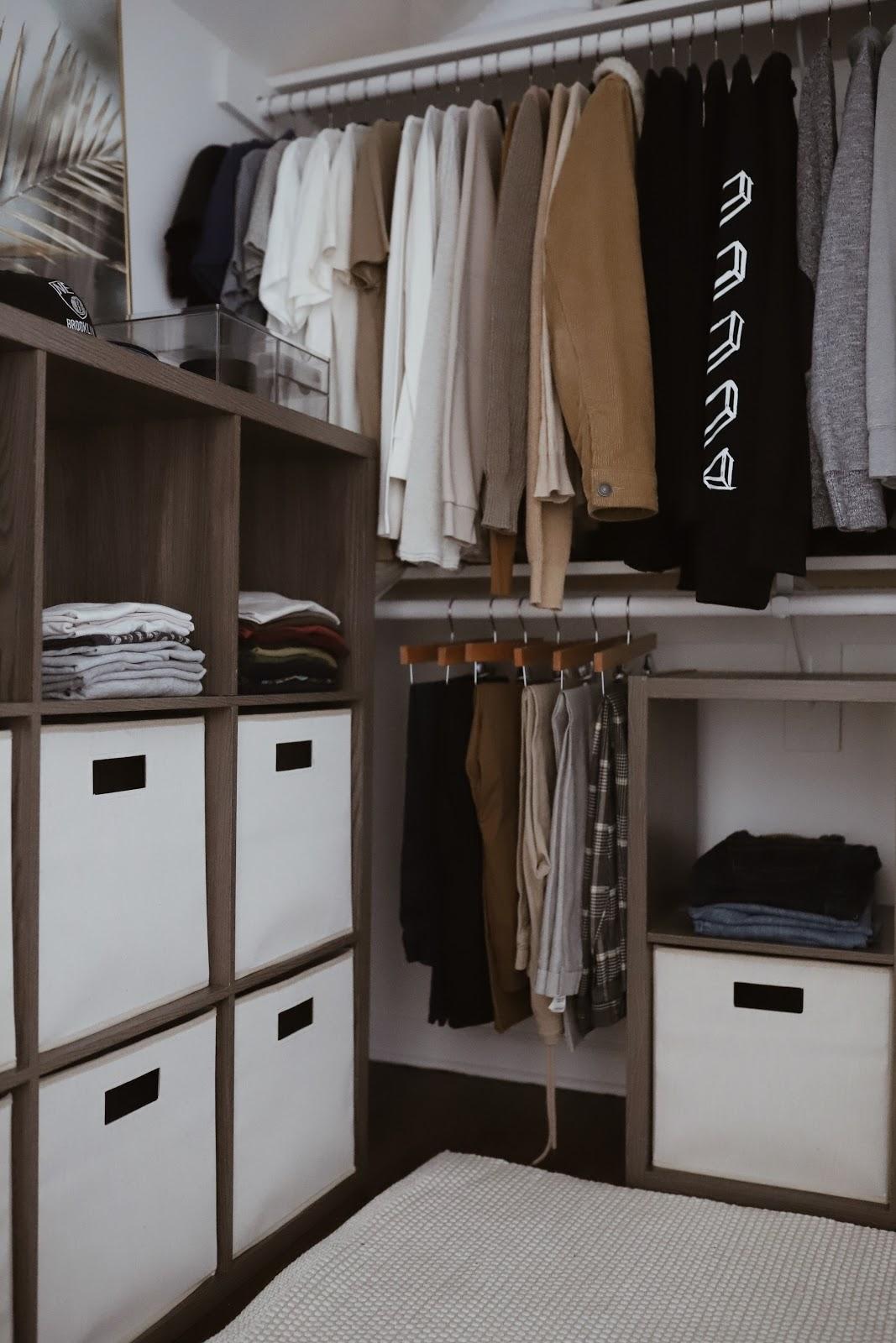 Closet Organization With Bed Bath