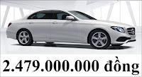Giá xe Mercedes E250 2018