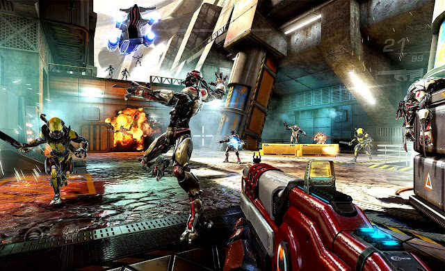 لعبة Shadowgun Legends للايفون