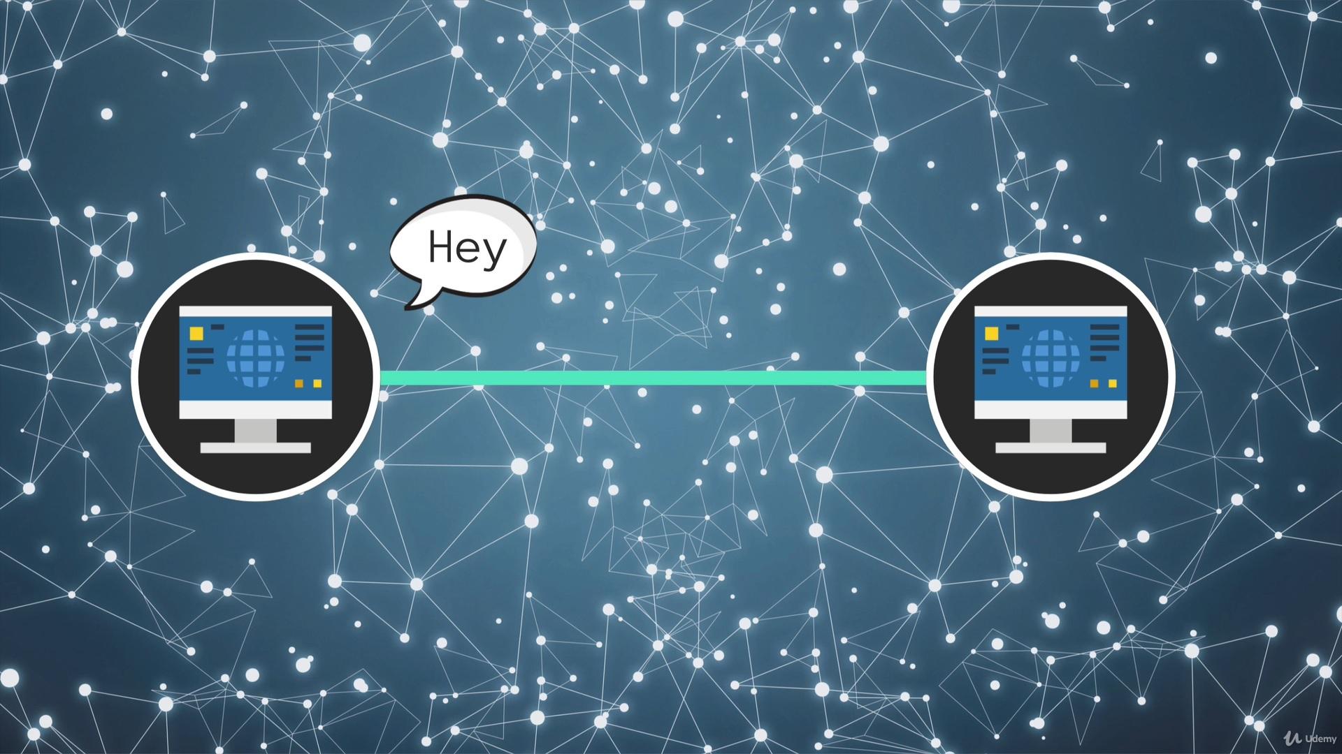 cara komputer saling terhubung