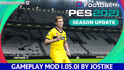 PES 2021 Gameplay Patch by Jostike
