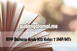 RPP Bahasa Arab K13 Kelas 7 SMP/MTs