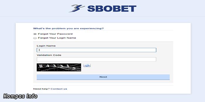 Cara Reset Password Di Sbobet