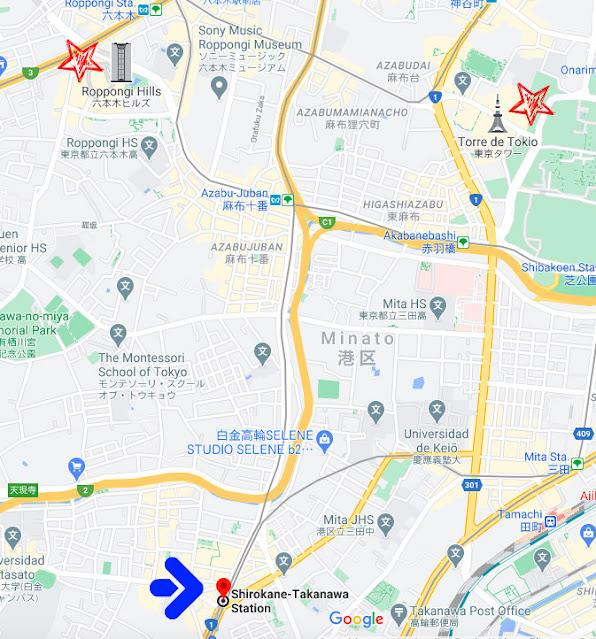 Captura de Pantalla de Google Maps
