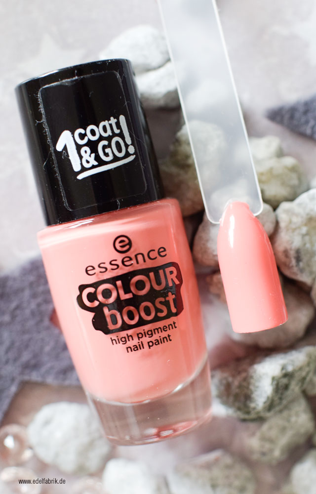 essence color boost / 02 instant fun, swatch