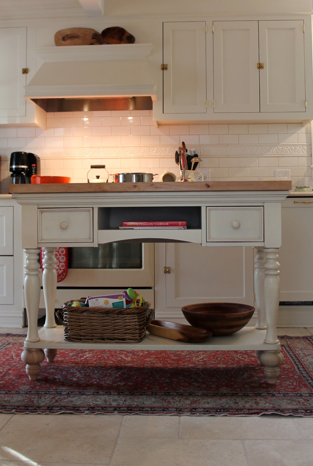 Designing Domesticity: DIY Kitchen Island