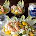 Ensalada de langostinos y mango con mayonesa Heinz realmente deliciosa