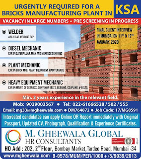 Bricks Manufacturing Plant in KSA
