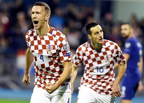 Lumat Yunani, Kroasia Selangkah Lagi Tembus Piala Dunia 2018