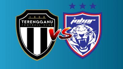 Live Streaming Terengganu vs JDT Piala Malaysia 21.9.2019