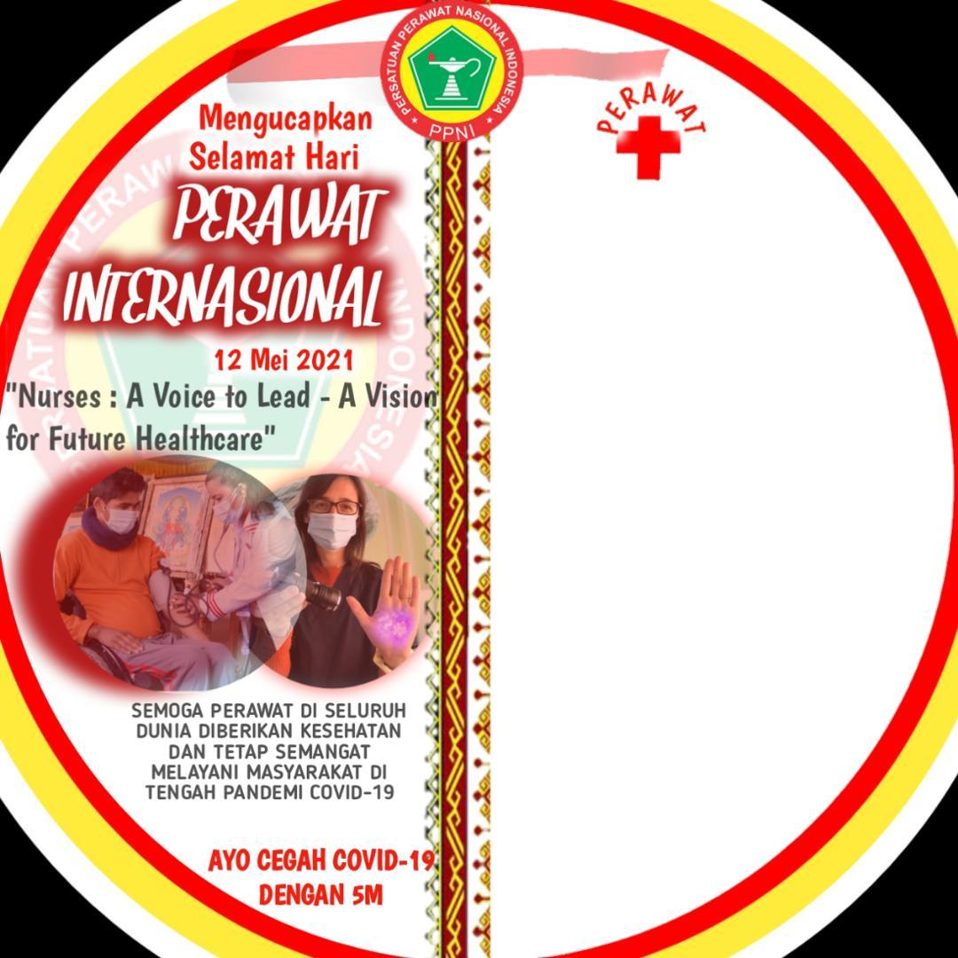 Download Twibbon Ucapan Hari Perawat Internasional 2021