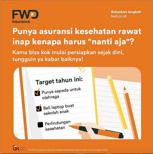 FWD Insurance Luncurkan FWD Hospital Care Protection