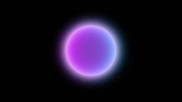 Pure CSS Glowing Translucent Marble