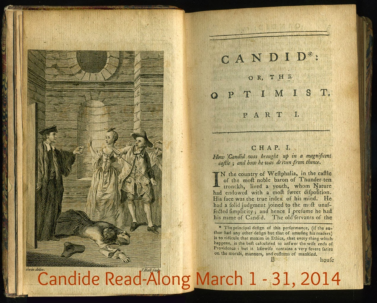 Candide Read-Along Intro & Chapters 1 - 8