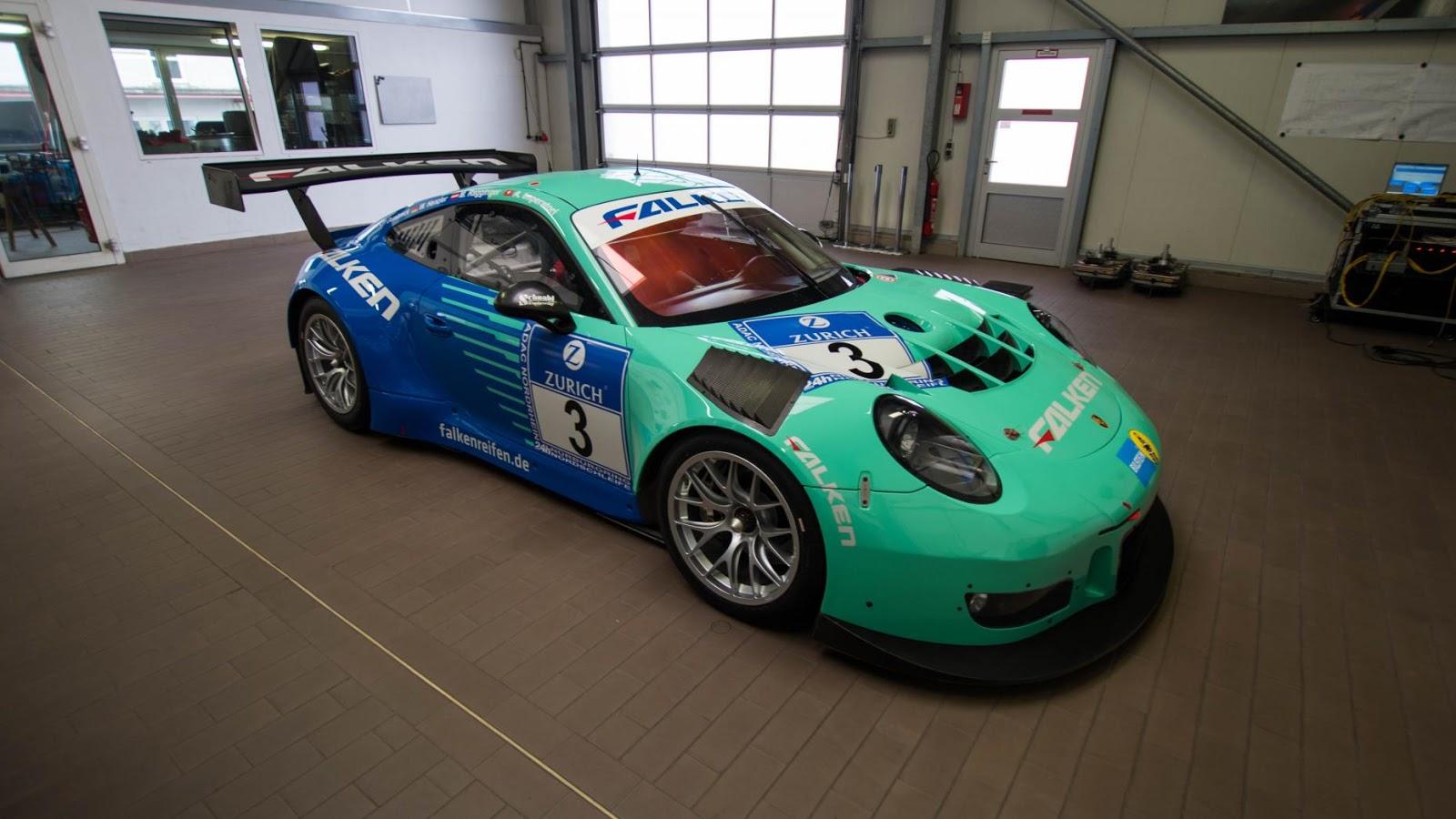 2016 Porsche 991 GT3 R