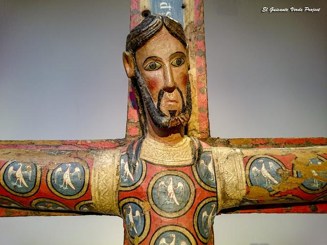 Majestad de Cristo en la Cruz (detalle) - Museo de Bellas Artes de Bilbao por EGVP